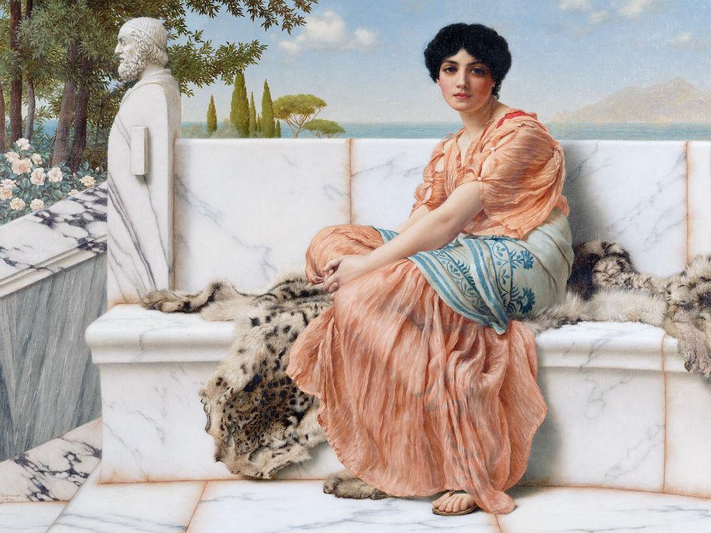 8 marzo, saffo, donne, Grecia