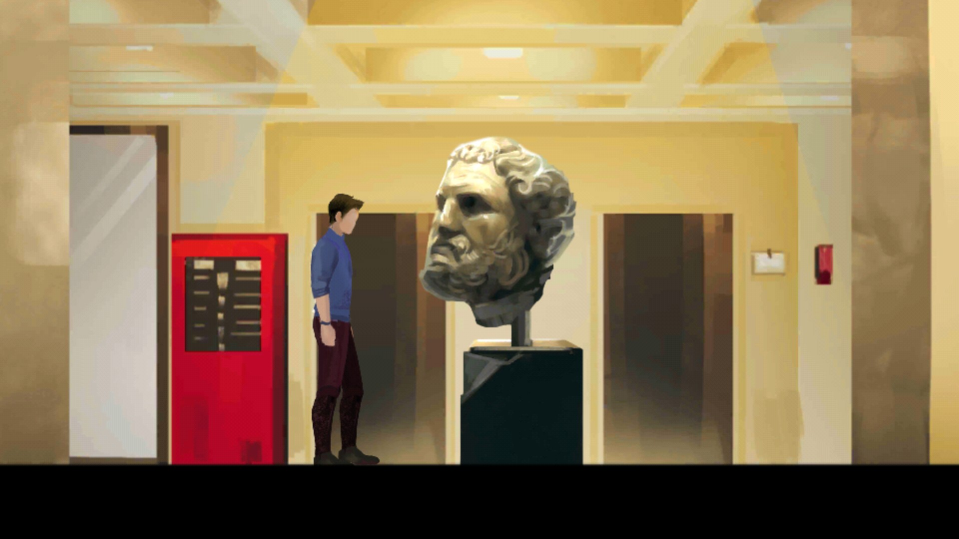 Screenshot Past for Future Museo interno