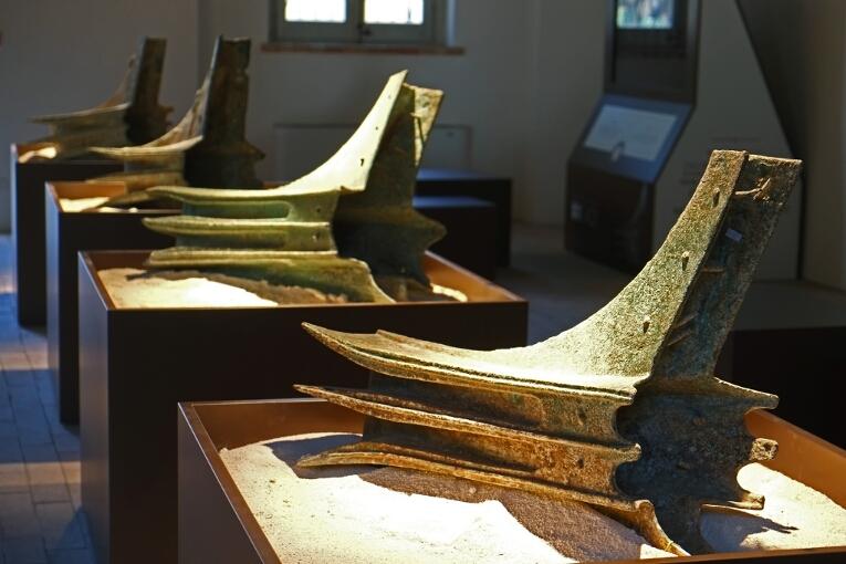 Rostri della battaglia delle Egadi in mostra a Favignana