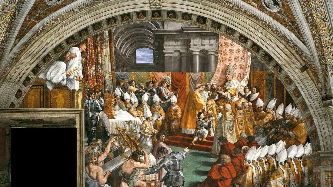 Carlo Magno, Natale