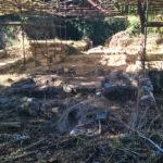 Domus di Villa San Pancrazio prima della bonifica del 2015