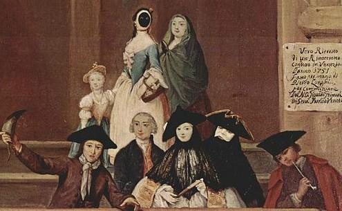 Roberto Longhi, scena di vita veneziana ai tempi di Casanova ©wikipedia