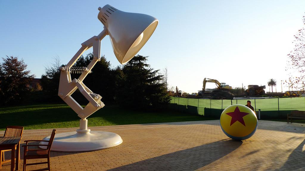 Pixar, Emeryville, CA., foto Lucius Kwok