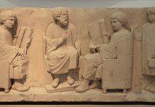 Lingua greca maestro e discepoli