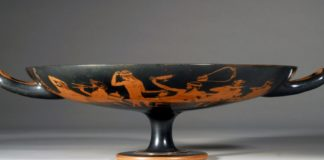 kylix, vasi greci, musei