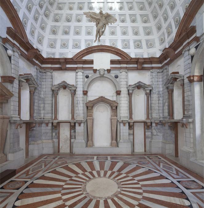Tribuna di Palazzo Grimani vuota