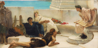 Lawrence Alma Tadema, donna romana