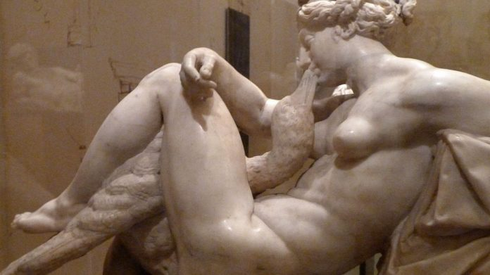 Ammannati Leda e il Cigno schiavi d'amore