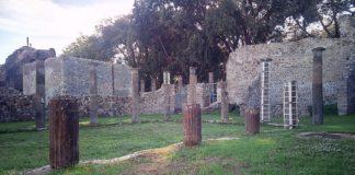 Pompei, la Palestra sannitica - guerriero fantasma