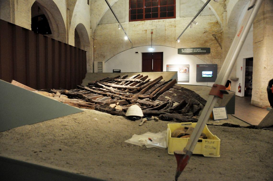 Museo delle navi di Pisa, Sala IV, Nave A