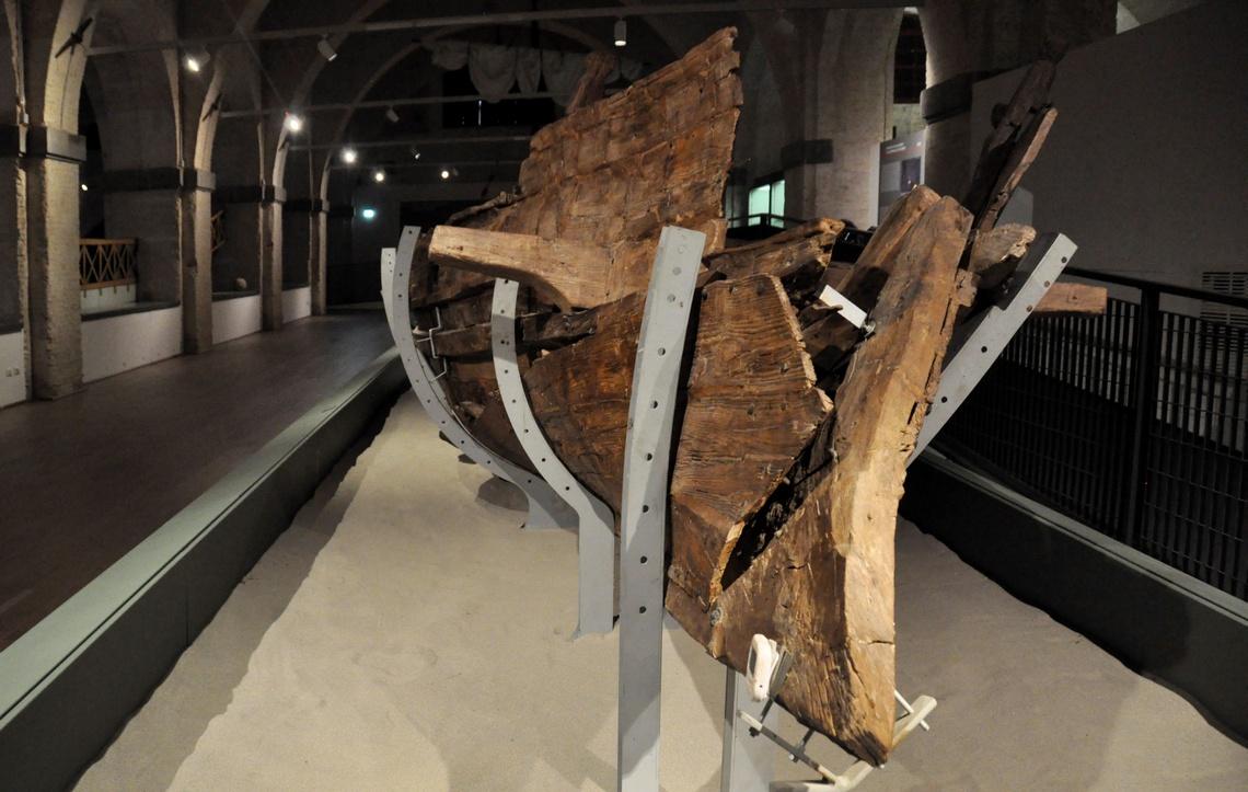 Museo delle navi di Pisa, Sala V, Nave Alkedo