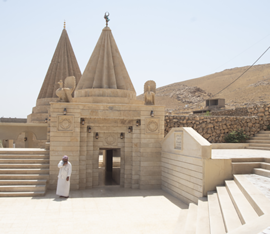 Yazidi Sinjar mausoleo