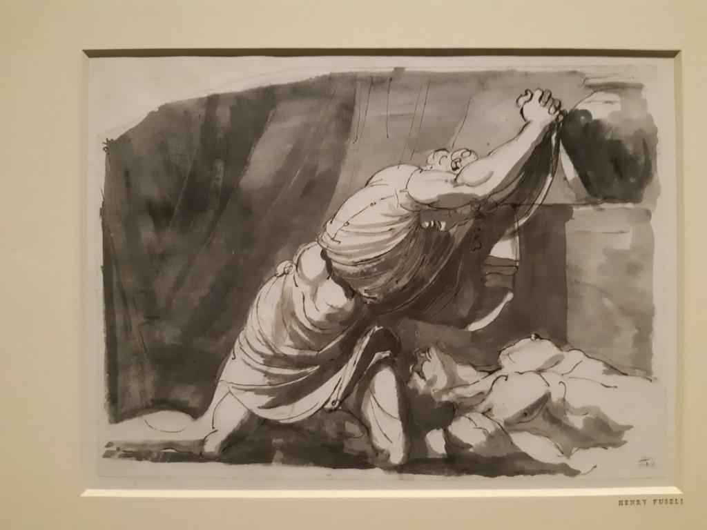 Heinrich Füssli, Lamento di Achille