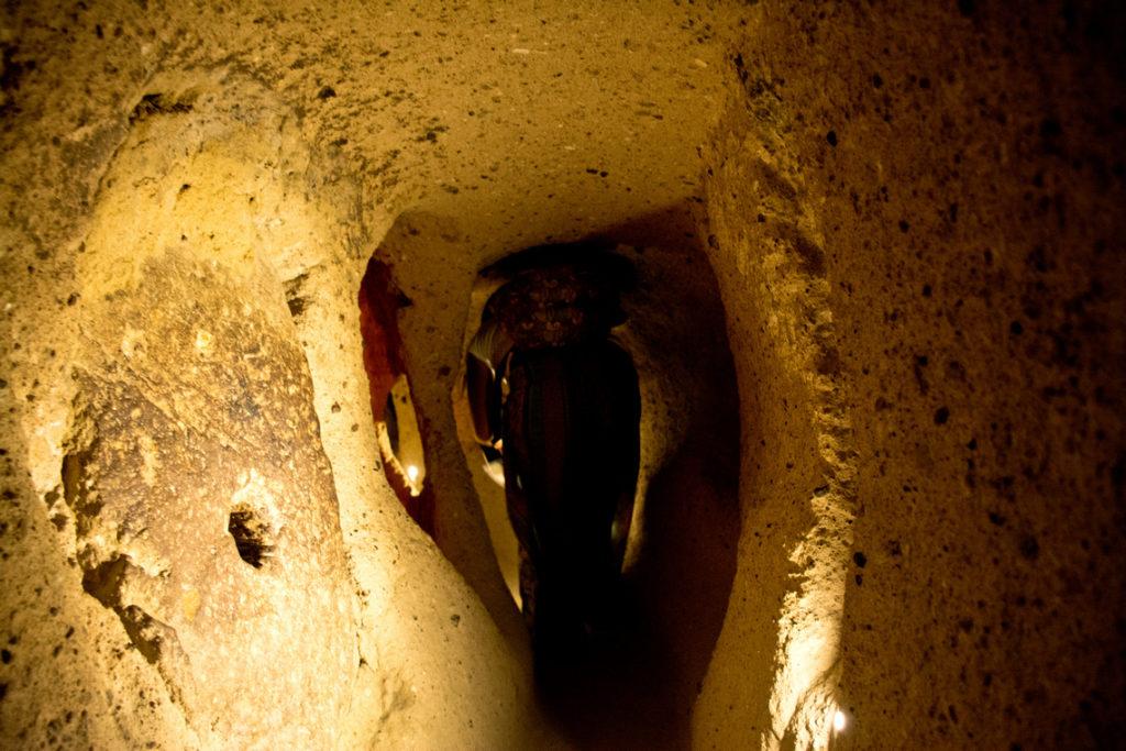 Cappadocia, Citta sotterranea di Kaymakly