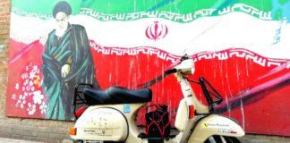 Iran in Vespa - Tehran