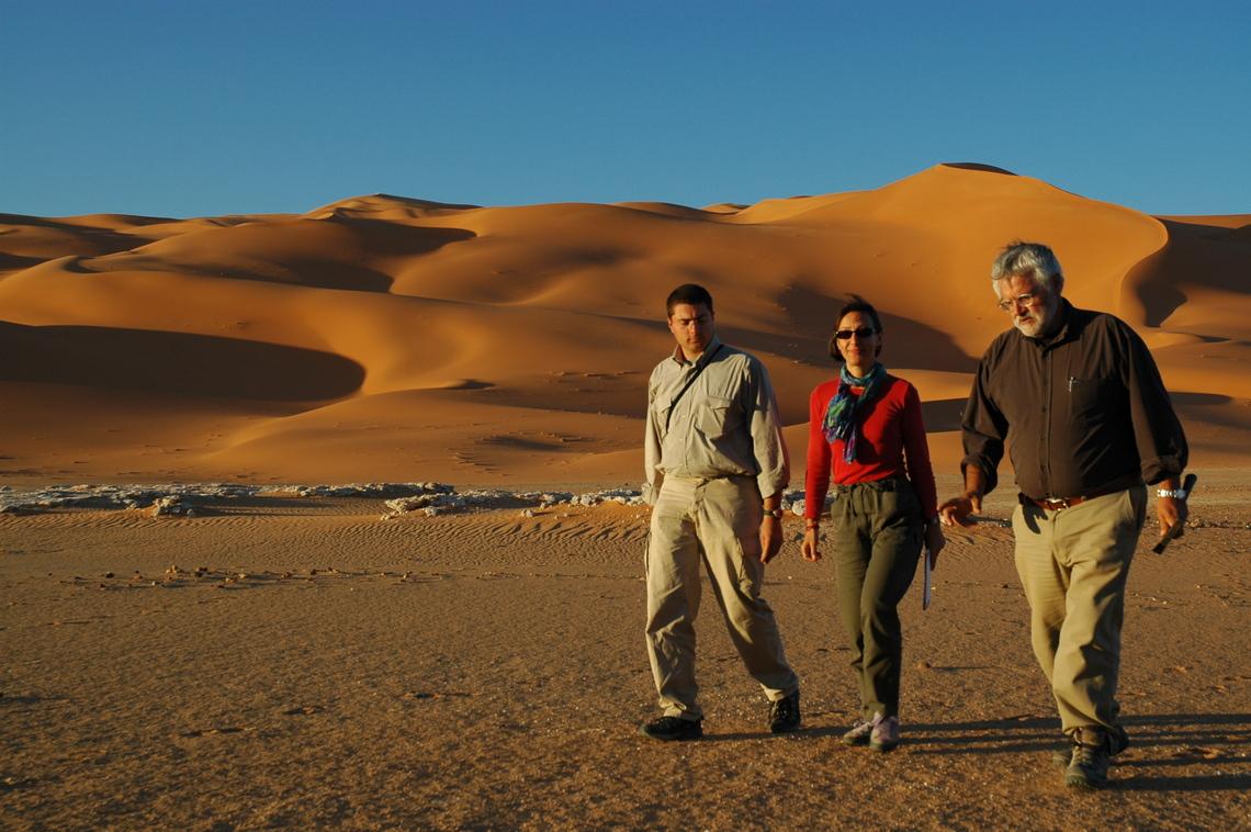 Erg Tanezzuft Sahara
