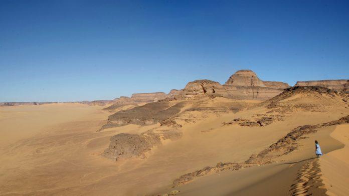 Sahara, Takarkori shelter from west
