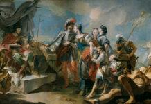 G. B. Tiepolo La reina Zenobia